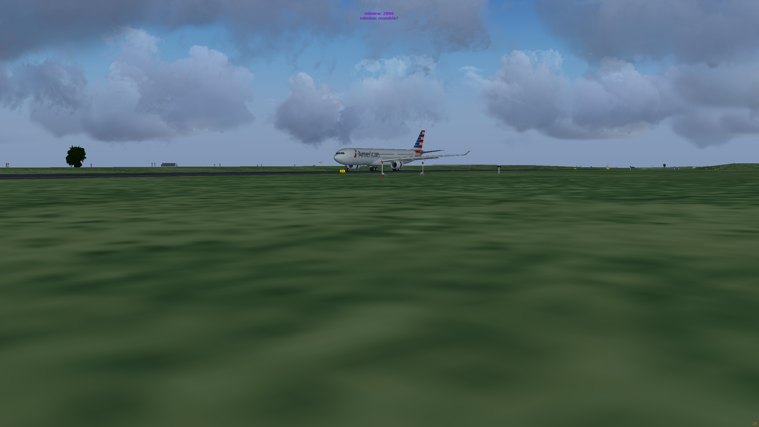 WTF411 in an A330 (Landing at LFRB)